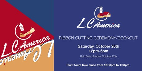 LC America's Ribbon Cutting/Company Cook-out tickets
