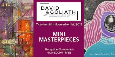 Mini Masterpieces: Small Scale Artwork. Large Scale Support