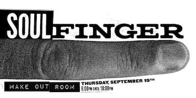 Soul Finger | Make-Out Room | Thursday, September 19th | 6pm to 10pm