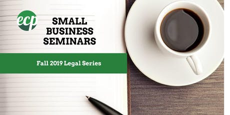 Employment Law 101 for Small Businesses tickets