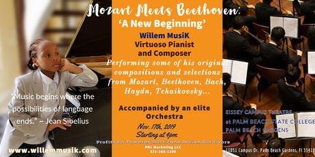 Mozart Meets Beethoven: A New Beginning tickets