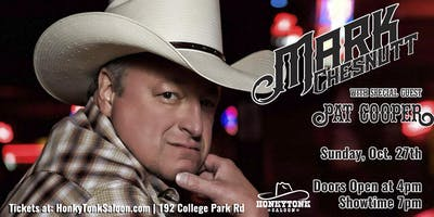 Mark Chesnutt with special guest Pat Cooper