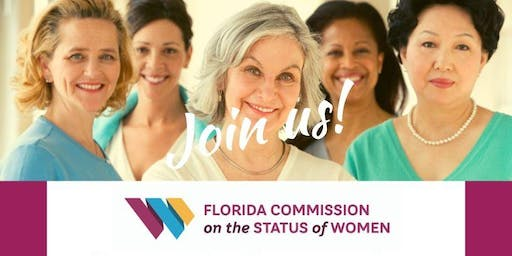 Florida Commission on the Status of Women and the Suncoast Commission on the Status of Women -- 2019 Voices of Florida Women - North Port