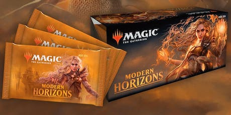 Magic The Gathering: Modern Horizons Win-A-Box tickets
