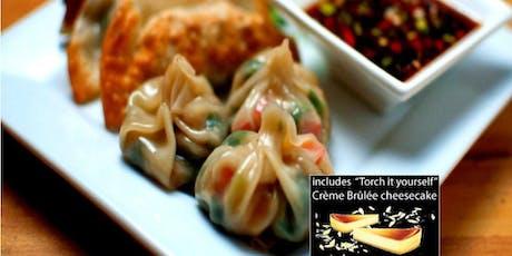 Dumplings Cooking Class w. wine + Dessert in Manayunk (Philly) tickets
