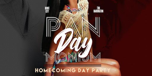 PanDAYmonium - Official Homecoming DAY Party 11.8.19
