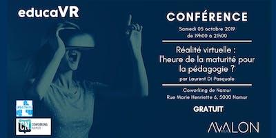 Réalité virtuelle : l'heure de la maturité pour la pédagogie ?