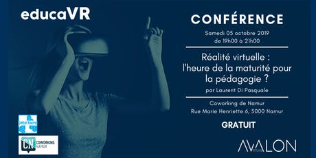 Réalité virtuelle : l'heure de la maturité pour la pédagogie ? billets