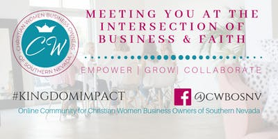 Christian Women Business Owners of SNV - Monthly Gathering