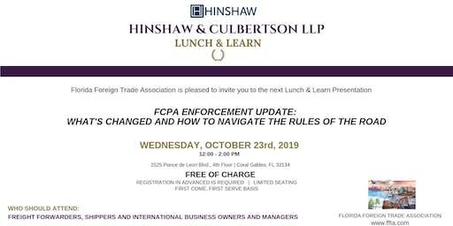 FFTA Lunch & Learn: Hinshaw & Culbertson