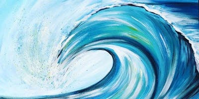 Wave Painting Workshop with Ashley Craft
