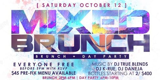 """CEO FRESH PRESENTS: """" MIXED BRUNCH """" (BRUNCH & DAY PARTY) AT LE REVE NYC"""
