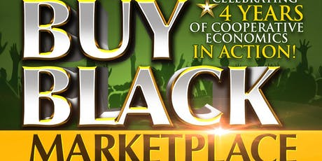 THE Buy Black Marketplace*Vendor Sign up for DECEMBER 14, 2019- 12 noon-6 pm  tickets