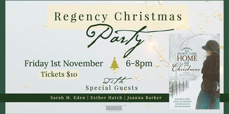 A Regency Christmas Party tickets