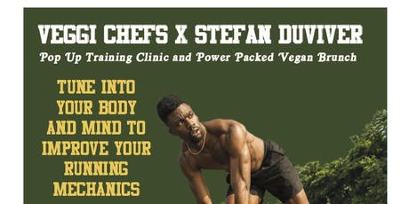 Pop Up Training Clinic and Power Packed Vegan Brunch tickets