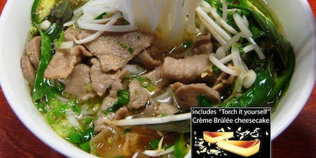 Date Night: What the PHO!?! + Dessert Cooking Class (BYOB) (Philadelphia) tickets