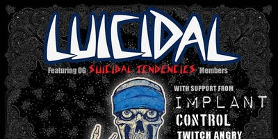 Luicidal - featuring OG Suicidal Tendencies members @ Holy Diver