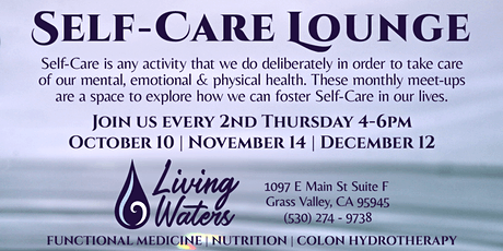 Self-Care Lounge tickets