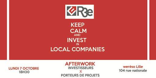Afterwork Investisseurs & Porteurs de projets