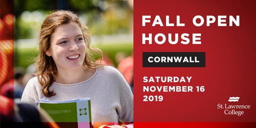 Fall Open House Cornwall Campus 2019