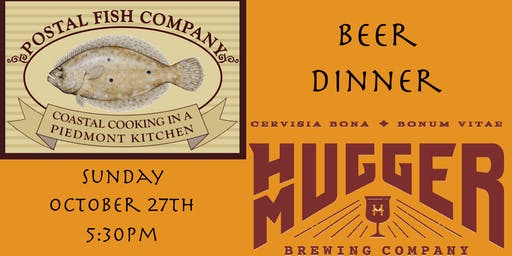 Hugger Mugger Beer Dinner