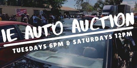 PUBLIC AUTO AUCTION tickets