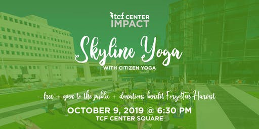 TCF Center Impact presents: Yoga with Citizens Yoga