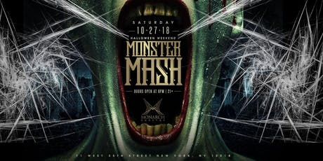 Monster Mash Halloween Party @ Monarch Rooftop tickets