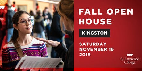 Fall Open House Kingston Campus 2019 tickets