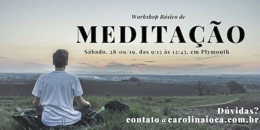 Workshop de Meditação BÁSICO