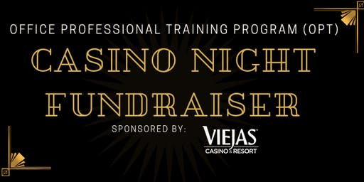 OPT Casino Night Fundraiser