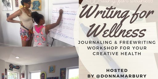 Writing For Wellness at Streetlight Guild