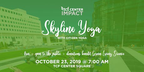 Skyline Yoga with Citizen Yoga tickets