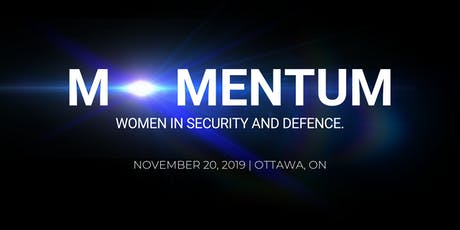 MOMENTUM - WOMEN IN SECURITY AND DEFENCE tickets