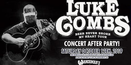 Luke Combs Concert After Party - Ranchman's tickets