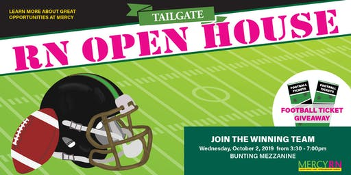 Mercy RN Open House -Tailgate