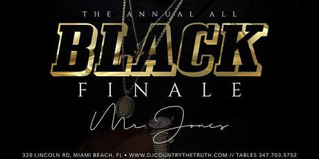 ALL BLACK FINALE MIAMI CARNIVAL tickets