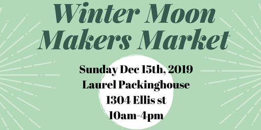 Winter Moon Makers Market