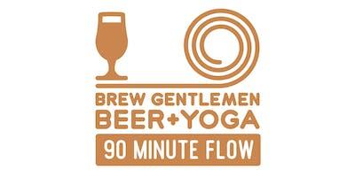Beer + Yoga: 90 Minute Flow