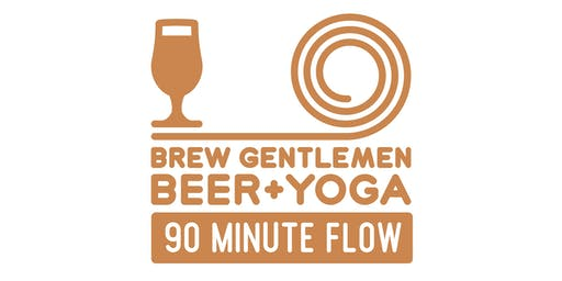 Beer + Yoga: 90 Minute Flow