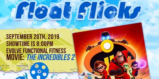 Movies from the Pool (September/Incredibles 2)