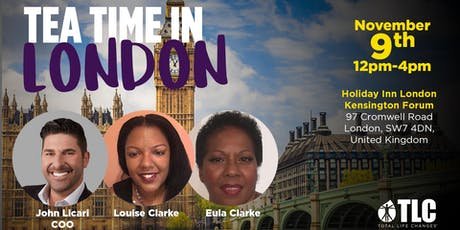 TLC's Tea Time in London tickets