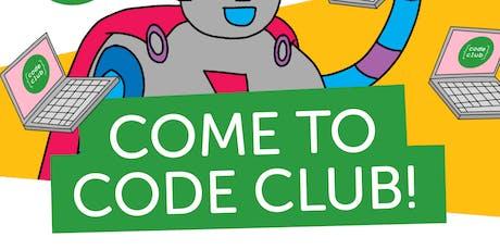 Coderdojo Code Club  Zwolle 2019#10 (7-14 jaar) tickets