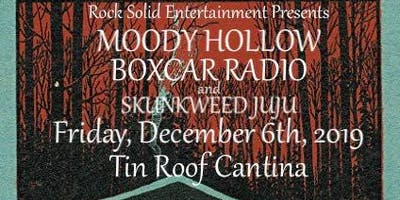RSE Presents: Moody Hollow, Boxcar Radio and Skunkweed Juju