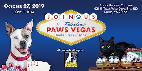 Paws Vegas 2019 tickets