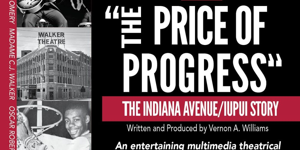 Image result for the price of progress indiana ave iupui