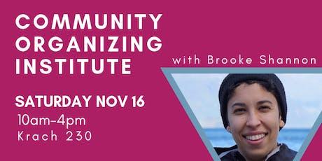 Community Organizing Institute 2019 tickets