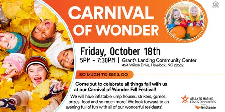 Carnival of Wonder Fall Festival (Cherry Point) tickets