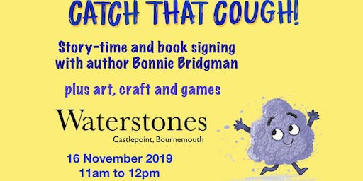 Catch That Cough: Storytelling & Book Signing