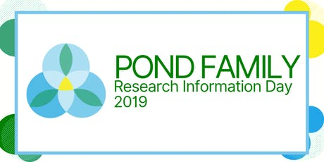 2019 POND Family Research Information Day tickets